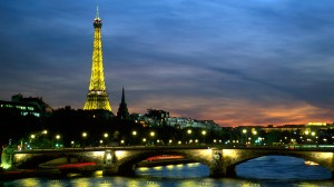 Seine River and Eiffel TowerParisFrance