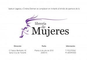 Invitaci+¦n Libreria de Mujeres